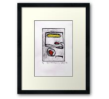 Untitled (shapes 2) 2014 Framed Print