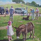 Tourists at Boltons Bench New Forest  by martyee