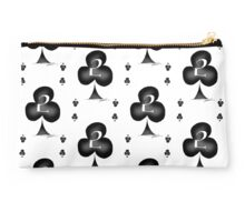 2 of Clubs - tony fernandes Studio Pouch