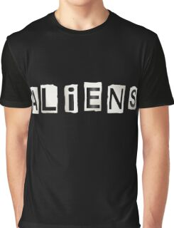 Aliens. Graphic T-Shirt