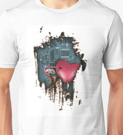 Metal Heart Art  Unisex T-Shirt