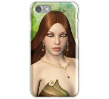 Beautiful Lady Four iPhone Case/Skin