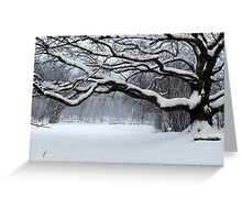 Ice Age - Old Oak Greeting Card