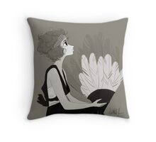 1920s fashion Throw Pillow