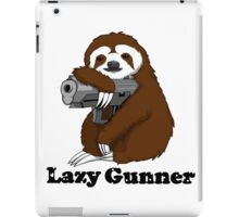 Lazy Gunner iPad Case/Skin