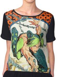 Jolyne Kujo homage Spiderman 300 Chiffon Top