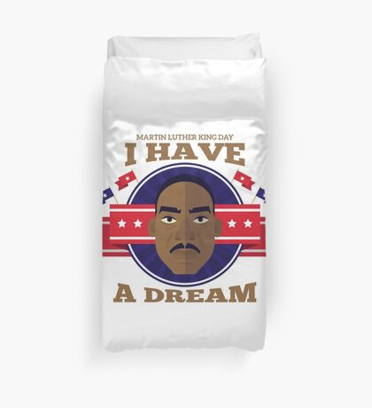 Silon Martin Luther King Vision Duvet Cover