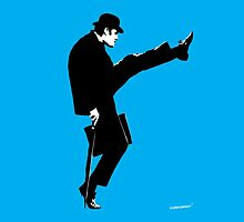John Cleese Ministry of Silly Walks by iconiComedy
