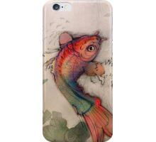 Waterfall Fish iPhone Case/Skin