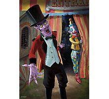 Creepy Circus Photographic Print