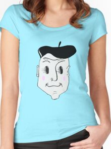 French Detective Women's Fitted Scoop T-Shirt