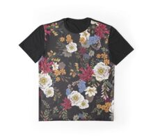 Flowerbomb, a country meadow bouquet Graphic T-Shirt