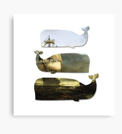Moby Ship Canvas Print