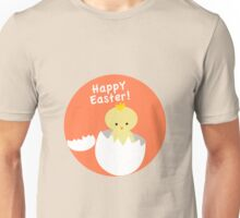 Cute easter chick coming out of egg Unisex T-Shirt