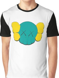 KAWS Head Graphic T-Shirt