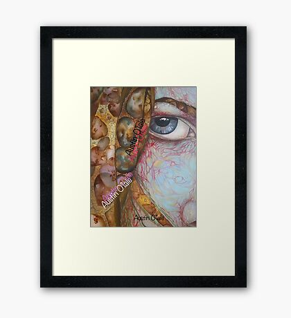 Floaters in My Eye, Oh! Framed Print