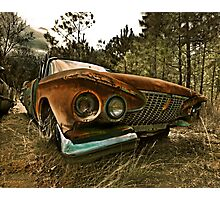 Abandoned 1961 Plymouth Belvedere Photographic Print