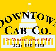 Downtown Cab Company Capitol by puppaluppa