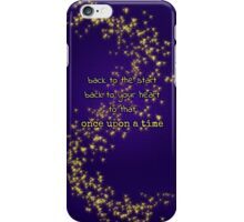 Once Upon a Heart iPhone Case/Skin