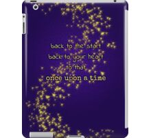 Once Upon a Heart iPad Case/Skin