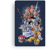 80'S HEROES Canvas Print