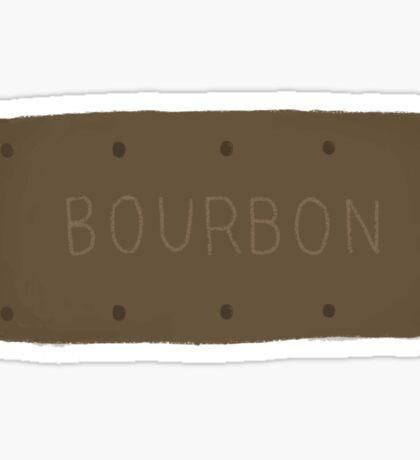 Bourbon Biscuit Sticker