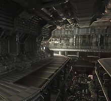 Hard Surface modular sci fi 2 by Luke Wilkins