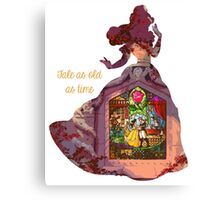 Tale as old as time - Belle Canvas Print