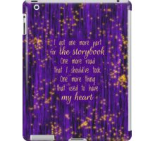 Once Upon a Starlight iPad Case/Skin