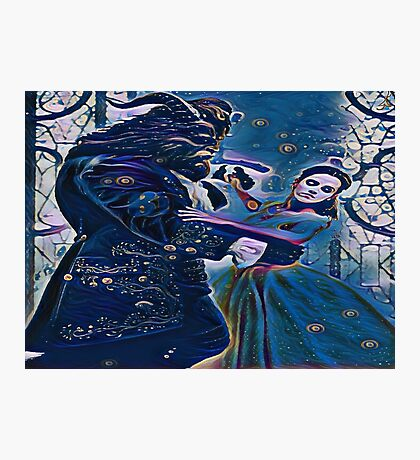 Beauty Finds Beast Photographic Print
