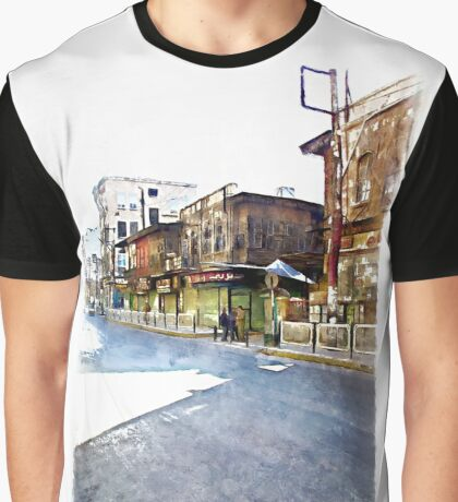 Street of Aleppo Graphic T-Shirt