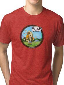 Eenola - Go Wild! (round) Tri-blend T-Shirt