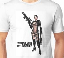 Wanna Join My Army? Unisex T-Shirt