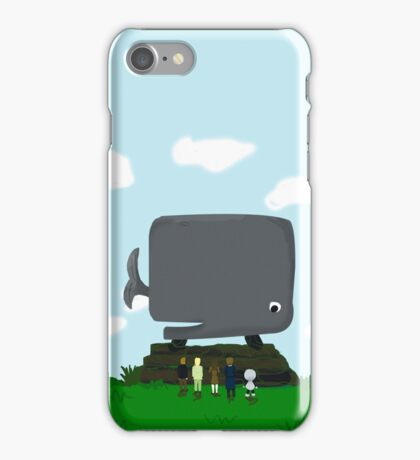 The hitchhikers guide to the galaxy - The happy ending iPhone Case/Skin