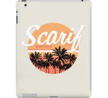 Scarif Big Wave Surfing iPad Case/Skin