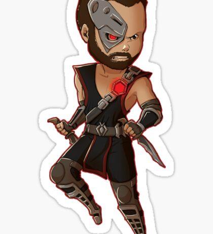Mortal Kombat • Kano Sticker