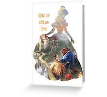 Tale as old as time - Belle mkII Greeting Card