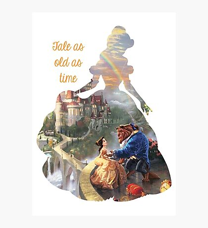 Tale as old as time - Belle mkII Photographic Print