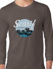 Scarif Big Wave Surfing Alternate Color Long Sleeve T-Shirt