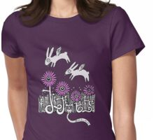 Bunny Dreams Tee Womens Fitted T-Shirt