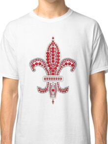 Ruby Fleur de Lis Classic T-Shirt
