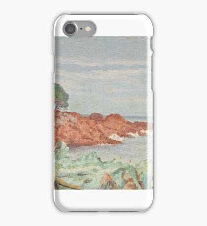 Sea Shore by Ernest Moulines () iPhone Case/Skin