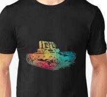 Rainbow color tank  Unisex T-Shirt