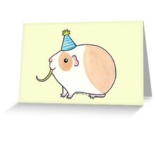 Celebration Guinea-pig Greeting Card