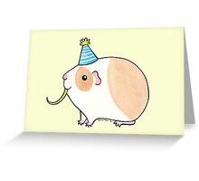 Celebration Guinea-pig Greeting Card