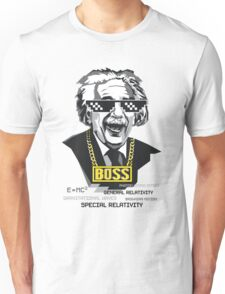 "Einstein ""The Boss"" Unisex T-Shirt"