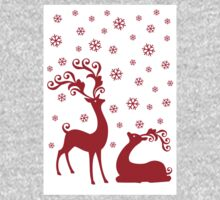 Cute Christmas deer Kids Clothes