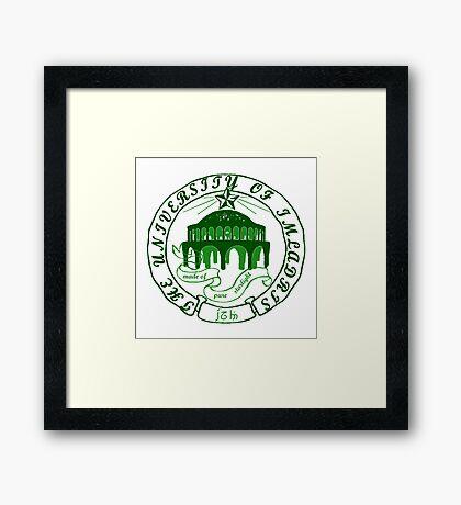 University of Mirkwood Framed Print