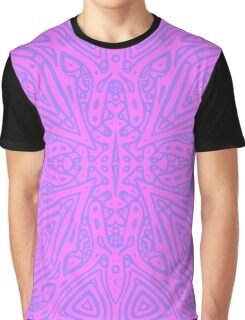 Pink Vector Graphic T-Shirt