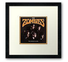 the zombies Framed Print